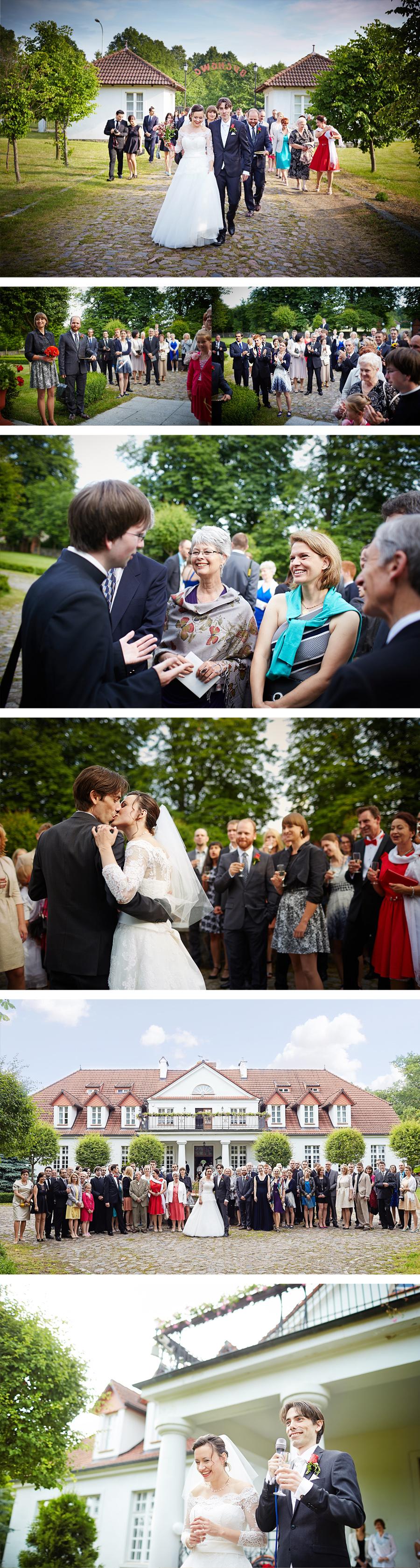 wesele w dworek w bychowie